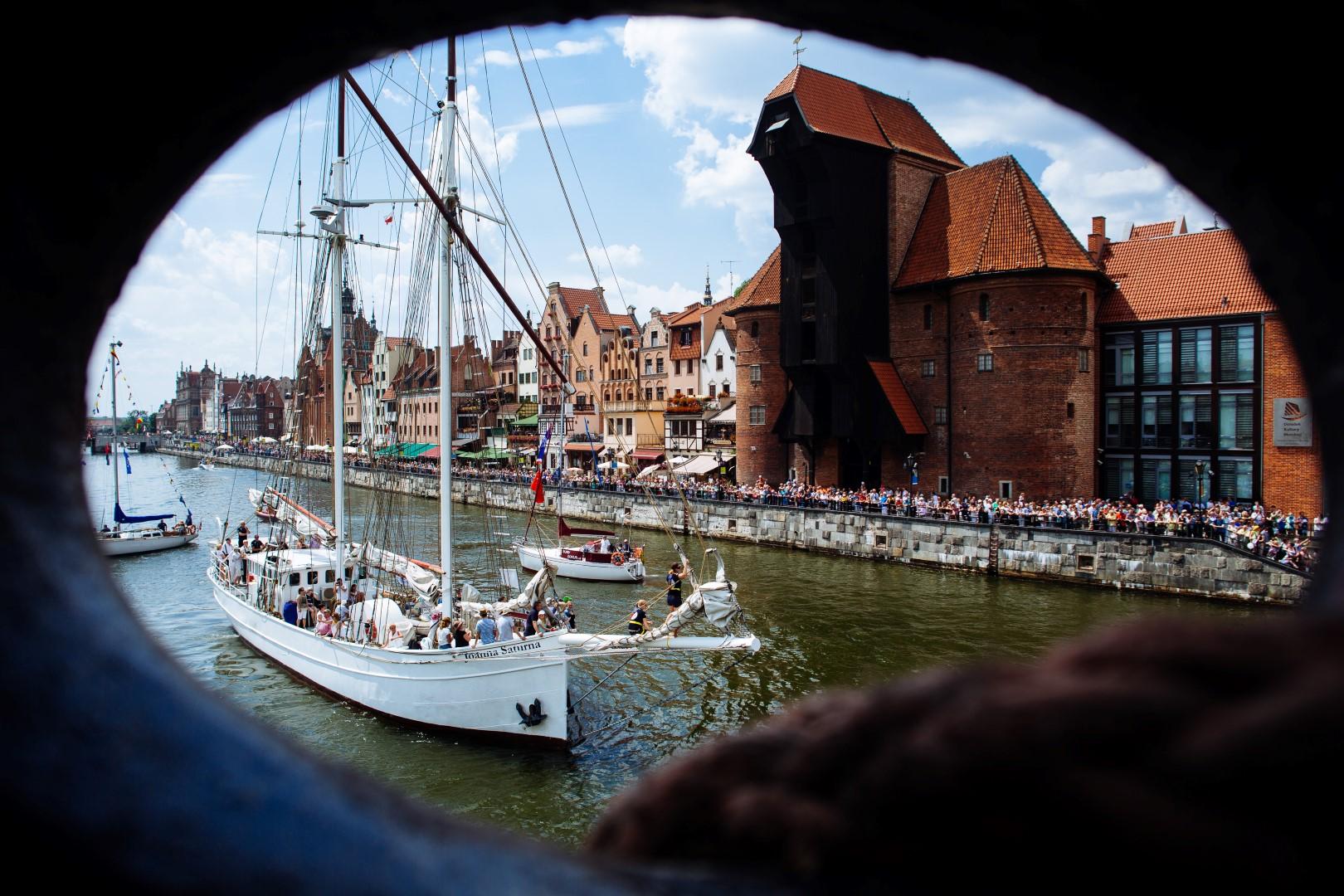 Lipiec 2014. Gdańsk. Baltic Sail 2014. Photo: Dominik Werner / Www.TESTIGO.pl